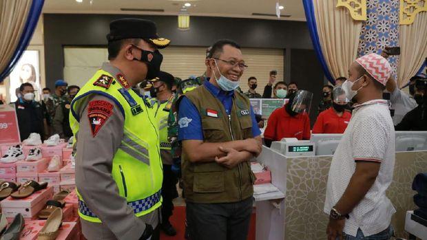 Kapolda NTB Irjen Mohammad Iqbal bersama Forkopimda patroli prokes jelang Idul Fitri