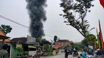 Kakek-Cucu Korban Kebakaran Toko-Gudang Bahan Bakar Sragen Meninggal