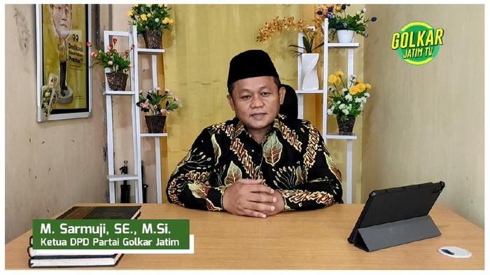 Ketua Golkar Jawa Timur M. Sarmuji.