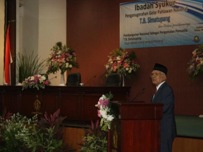 Pendeta SAE Nababan (Dok situs PGI/pgi.or.id)