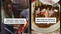 Naya Penjual Sate Cantik hingga Bisnis Kuliner Mendiang Sapri Pantun