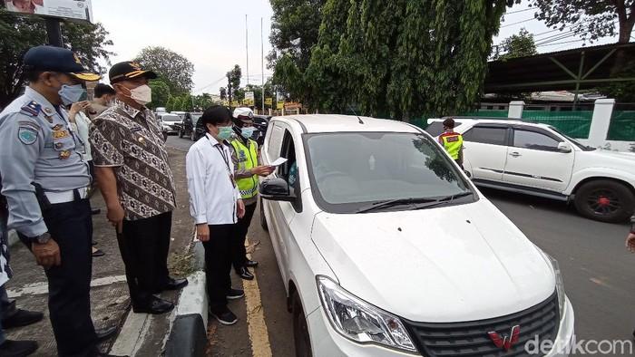 Penyekatan Pemudik di Cirebon