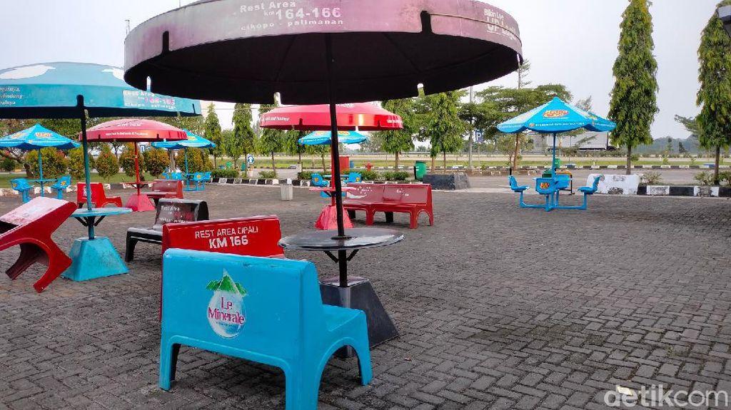 Nestapa Tenant Rest Area: Nggak Boleh Tutup Meski Kunjungan Surut