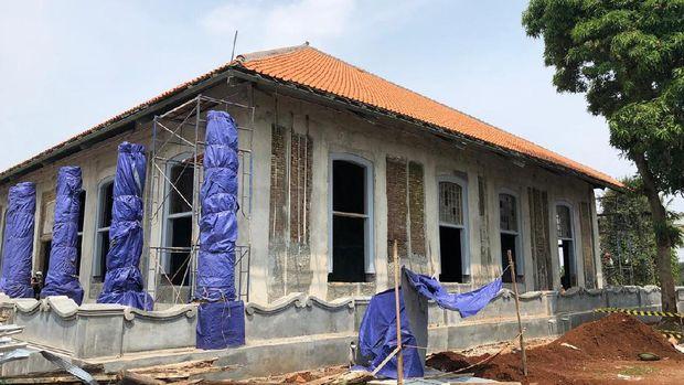 Rumah Cimanggis Peninggalan belanda di Kampus UIII Direhabilitasi