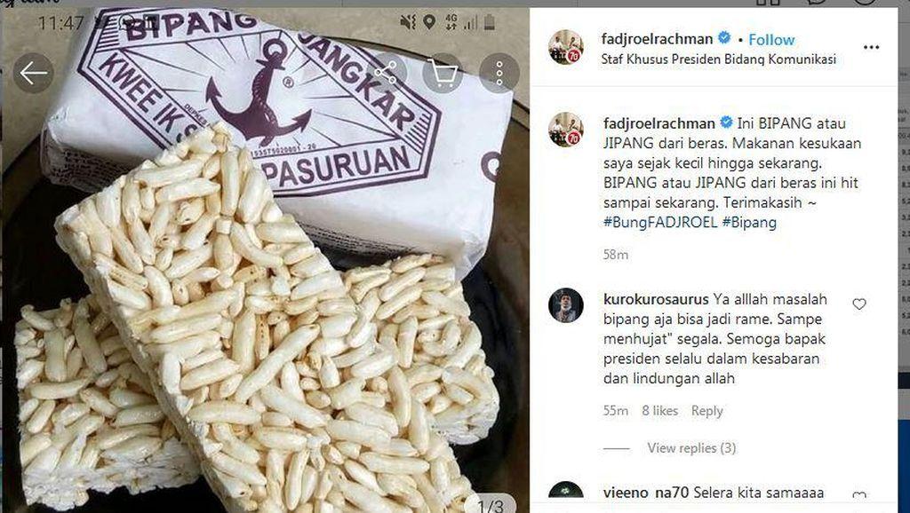 Jubir Jokowi Bicara soal Bipang, Makanan Kesukaannya dari Kecil