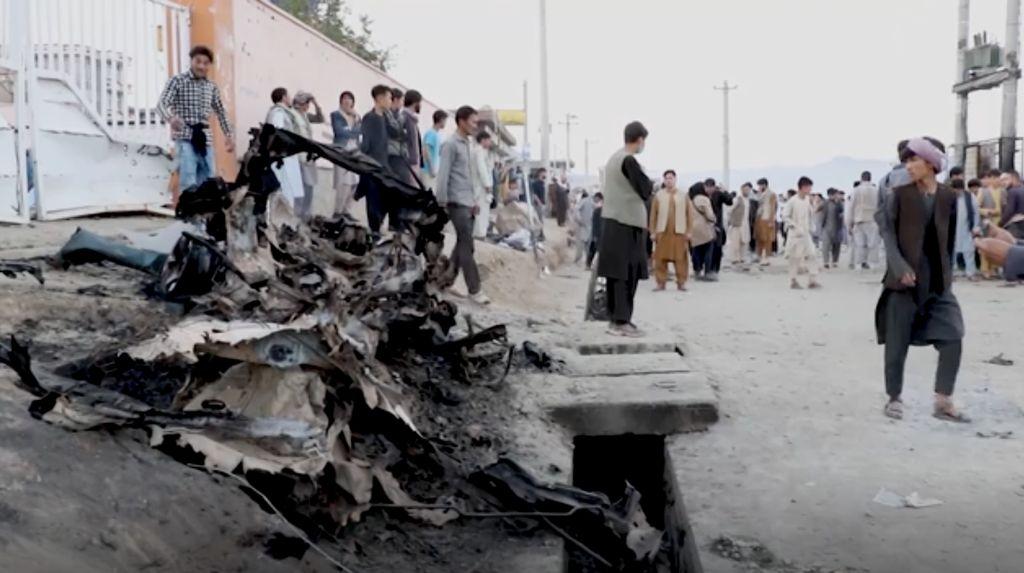 Korban Tewas Bom Dekat Sekolah Afghanistan Jadi 50 Orang
