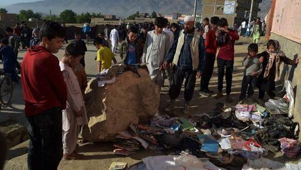 RI Kutuk Ledakan Dekat Sekolah di Afghanistan yang Tewaskan 50 Orang