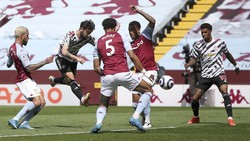 Aston Villa Vs Man Utd: Setan Merah Tertinggal 0-1 di Babak Pertama