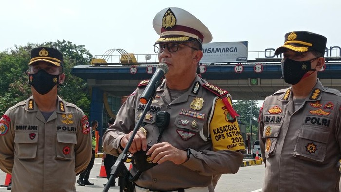 Dirlantas Polda Metro Jaya Kombes Sambodo Purnomo Yogo (Foto: Wilda/detikcom)