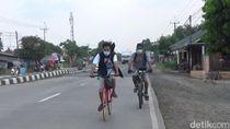 Perjuangan Siam dan Sugianto Mudik Gowes Sepeda Jakarta-Jateng