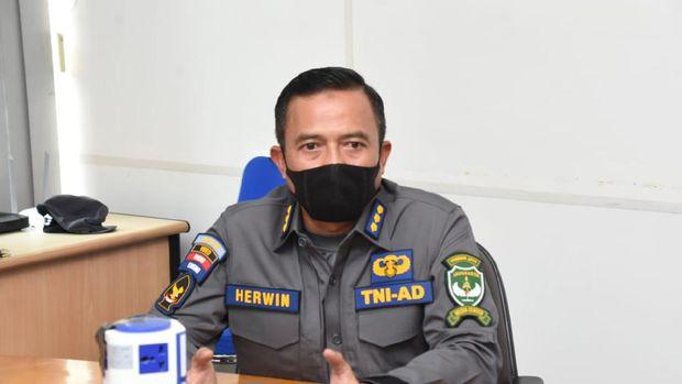 Kapendam Jaya Kolonel Arh Herwin