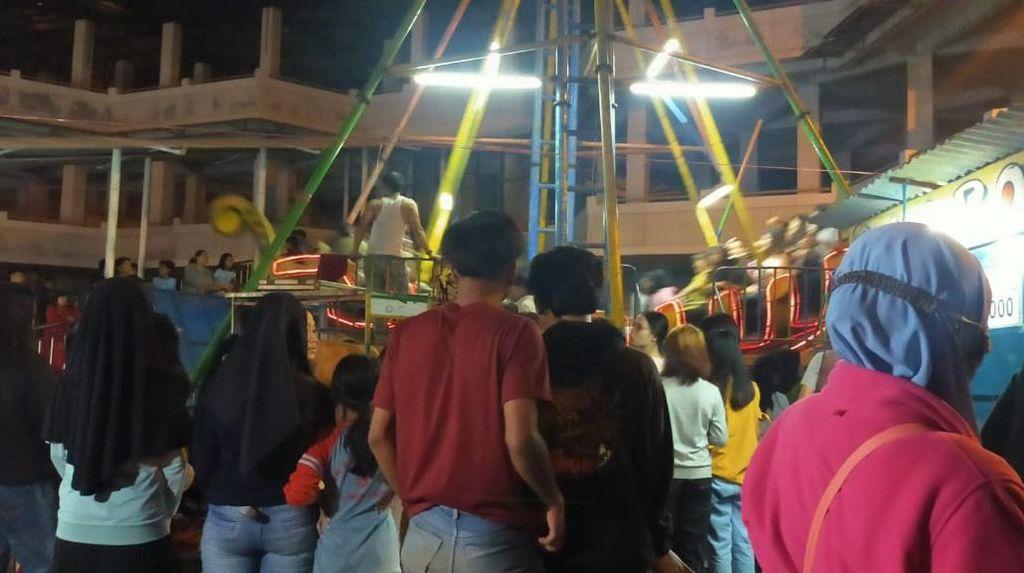 Langgar Prokes-Tak Berizin, Pasar Malam Garut Dibubarkan Satgas COVID-19