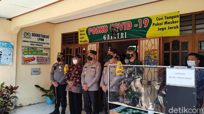 Kepala Badan Pemeliharaan Keamanan (Kabaharkam) Polri Komjen Arief Sulistyanto di Kulon Progo, Minggu (9/5/2021).