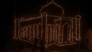 Kerlap-kerlip Lentera Warnai Festival Lampu Colok di Pekanbaru