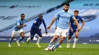 Detik-detik Panenka Gagal Sergio Aguero Vs Chelsea
