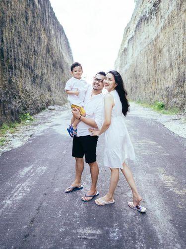 Potret keluarga Chindy Vintayana.