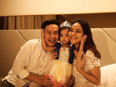 Potret keluarga Marisa Thara Wardhani.