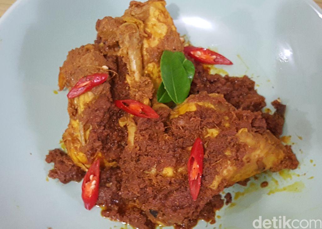 Resep Rendang Ayam Padang Praktis
