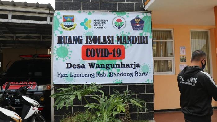 Ruang isolasi mandiri COVID-19 di Bandung Barat