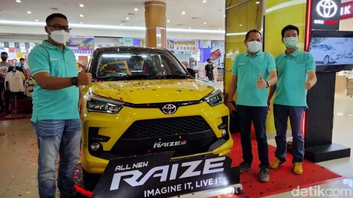 Toyota Raize di Banjarmasin