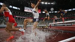 Aksi Para Sprinter di Test Event Olimpiade Tokyo