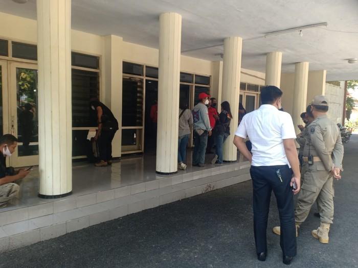 kantor Badan Kepegawaian Daerah (BKD) Nganjuk Jalan Basuki Rahmat