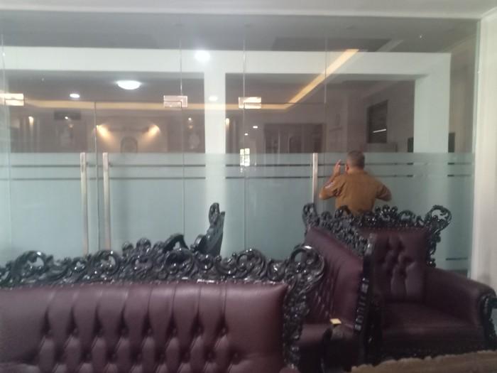 Kantor Bupati Nganjuk Tertutup Rapat