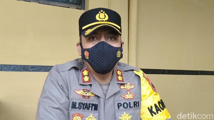 Kapolres Karanganyar AKBP M Syafi Maula, Senin (10/5/2021).