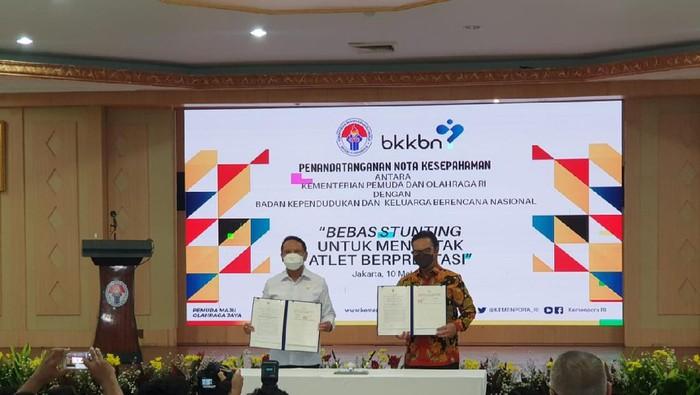 Kemenpora-BKKBN Beraksi Atasi Stunting demi Program Indonesia Emas 2045
