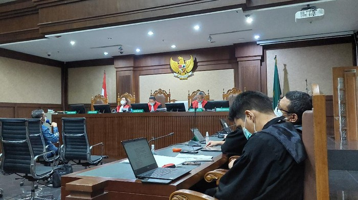 Lanjutan Sidang Kasus Bansos Corona Juliari Batubara
