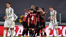 Juventus Vs AC Milan: Kalah 0-3, Bianconeri Terancam ke Liga Europa