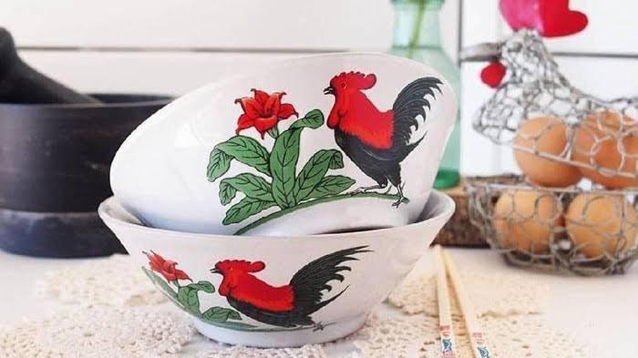 Mangkuk Ayam Jago Sudah Ada 100 Tahun Lalu, Simbolkan Kemakmuran!