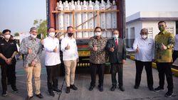 RI Akan Kirim 3.400 Tabung Oksigen ke India, Airlangga: Get Well Soon