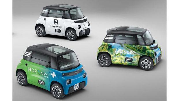 Mobil listrik Citroen Ami