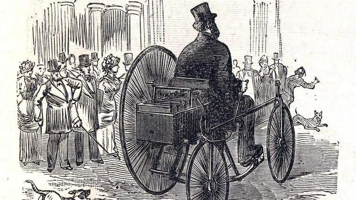 Ilustrasi Mobil listrik pertama di dunia