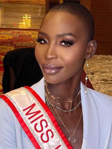 Miss Universe Canada Nova Stevens.
