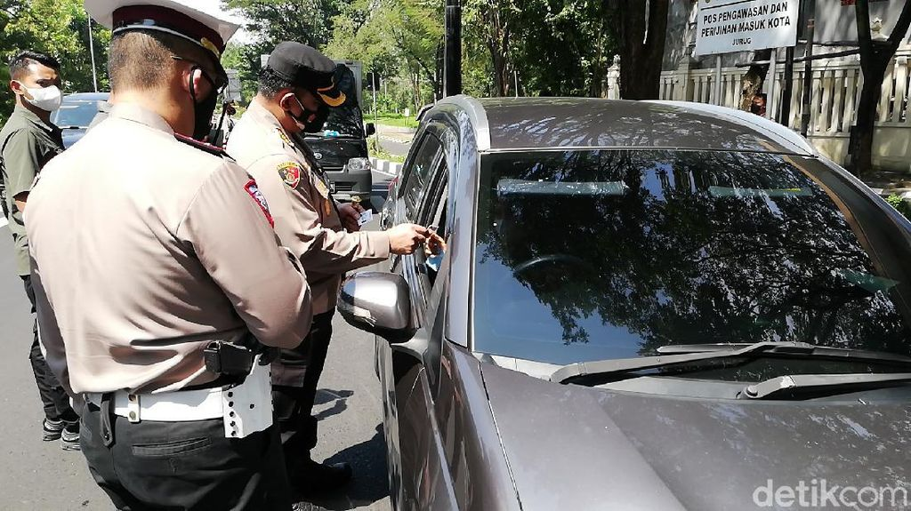 Hari ke-4 Larangan Mudik, 2.204 Kendaraan Kena Penyekatan di Banten