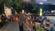 Jelang Lebaran, Polresta Mataram Gelar Patroli di Tempat Keramaian