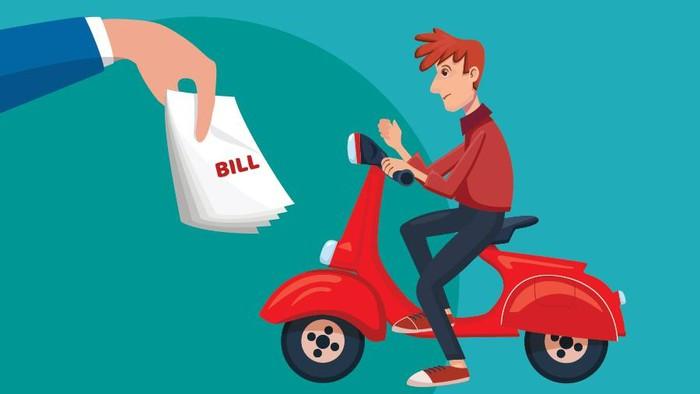 Santuy Dicegat Debt Collector