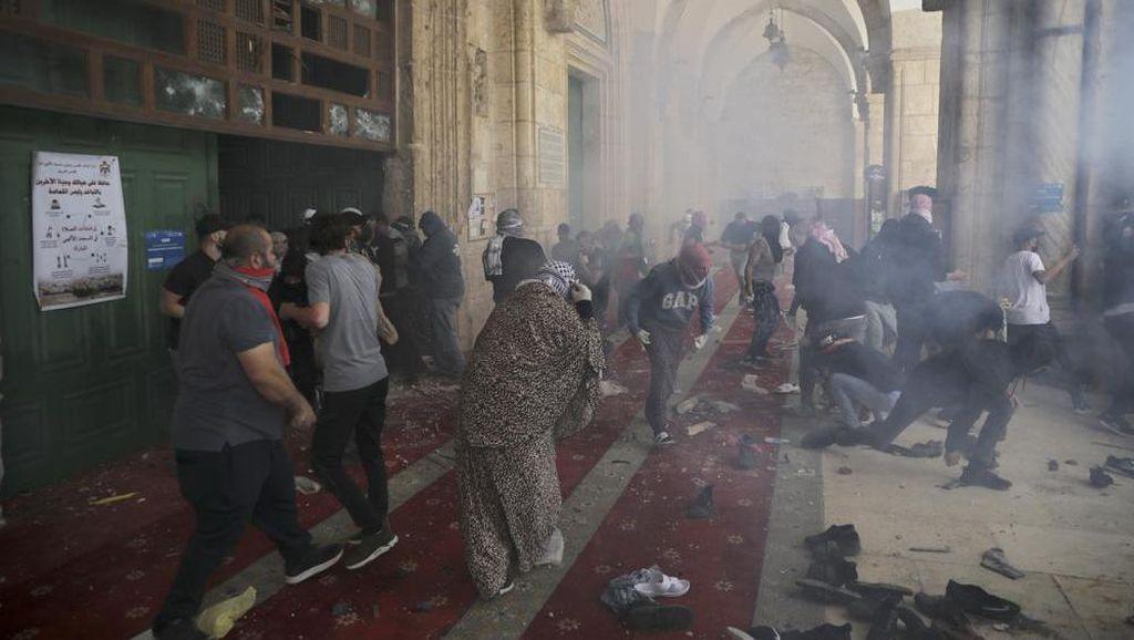 Kecaman Turki hingga RI Kala Israel Serang Warga Palestina di Al-Aqsa