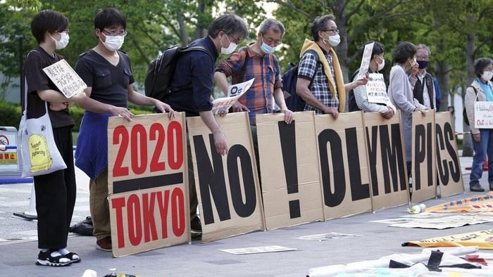Warga Jepang Tolak Olimpiade 2020