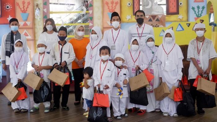 Jelang akhir Ramadhan, IUIGA mengadakan kegiatan sosial diantaranya berbagi dengan anak-anak dari panti asuhan.