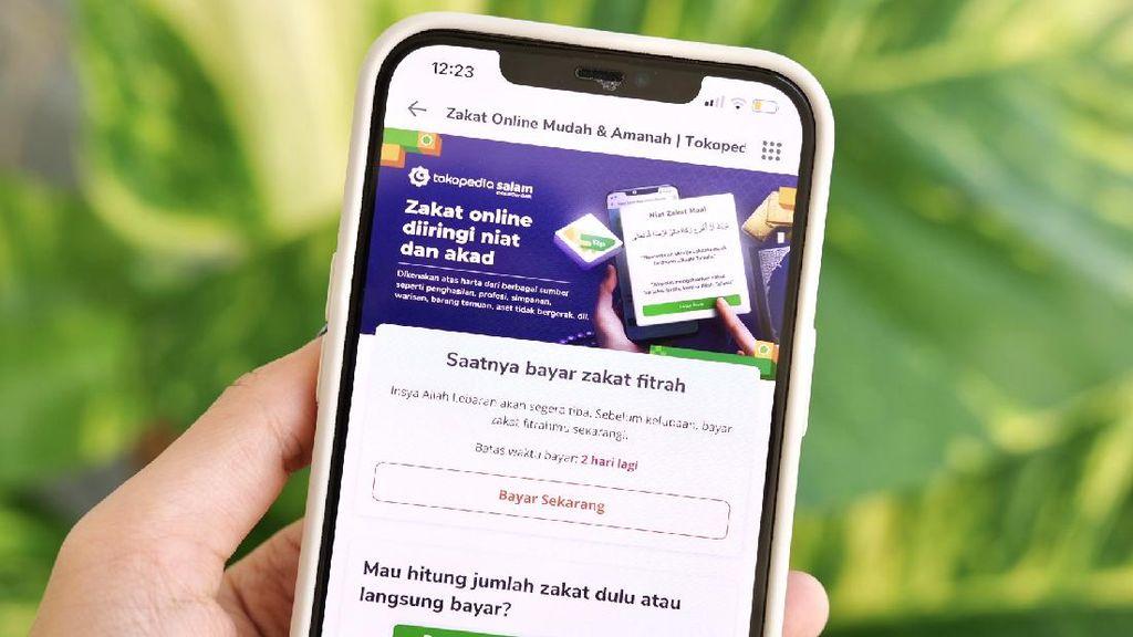 Transaksi Zakat Maal di Tokopedia Meningkat 3 Kali Lipat