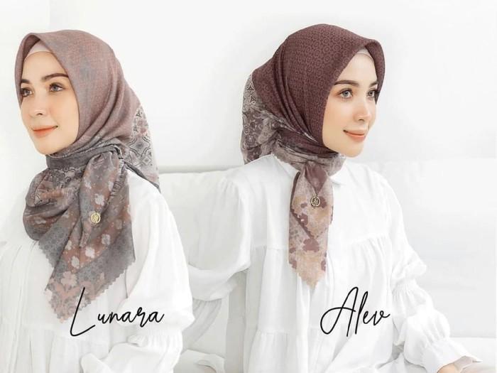 Rekomendasi hijab untuk Lebaran 2021 dari Mylady Hijab.