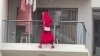 Viral Video Wanita Berjoget & Jatuh Dari Lantai 25, Ada Fakta Aneh di Baliknya