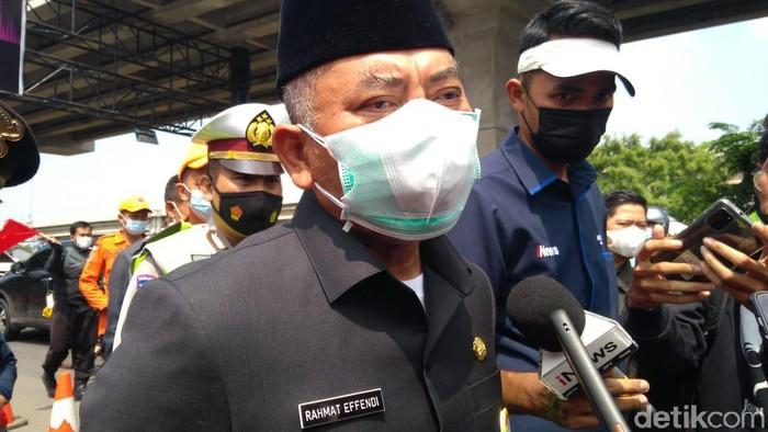 Wali Kota Bekasi, Rahmat Effendi (Dyas/detikcom)