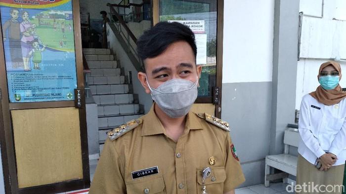 Wali Kota Solo Gibran Rakabuming Raka, Senin (10/5/2021).