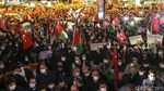 Warga Turki Demo Tolak Rencana Israel Gusur Warga Palestina