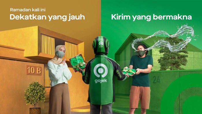 Ajak Pengguna Kirim yang Bermakna, Ini Inisiatif Ramadan Gojek 2021
