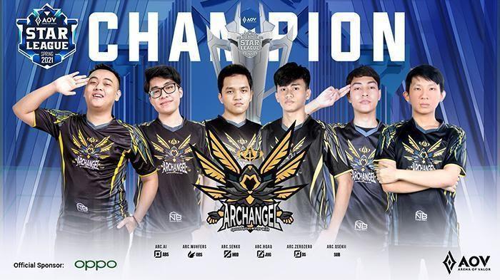 Archangel Juara ASL 2021 Spring Setelah Mengalahkan Dewa United Esports